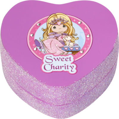 "Precious Moments  ""Sweet Charity""  Resin Trinket Box  #164427"