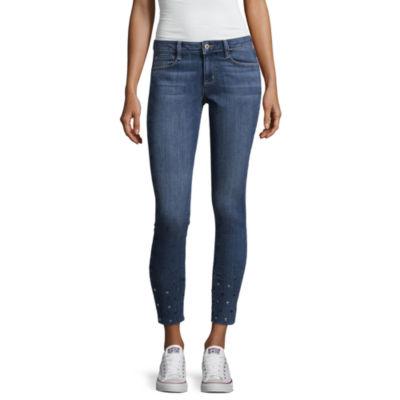 Arizona Stud Hem Ankle Skinny Fit Jean-Juniors