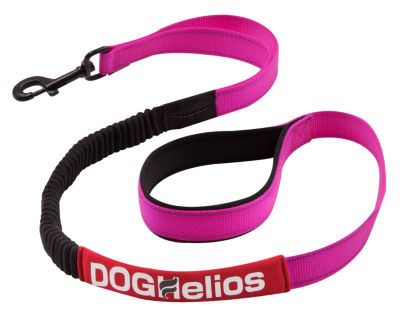 Dog Helios Neo-Indestructable Easy-Tension Sporty Embroidered Thick Durable Pet Dog Leash