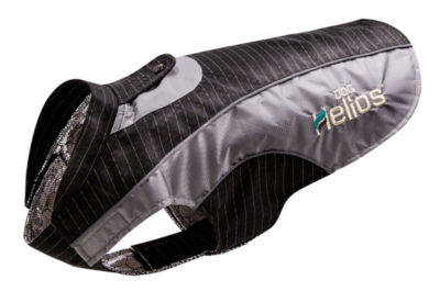Dog Helios 'Reflecta-Bolt' Sporty Performance Tri-Velcro Waterproof Pet Dog Coat Jacket with Blackshark Technology