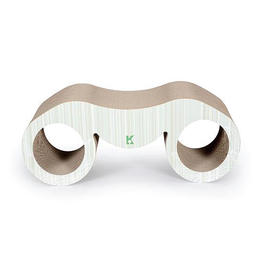 Pet Life Binocular Ultra Premium Modern Equisite Contoured Cat Scratcher