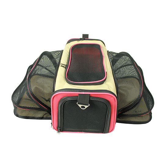 Pet Life Roomeo Folding Collapsible Airline Approved Pet Dog Carrier Crate