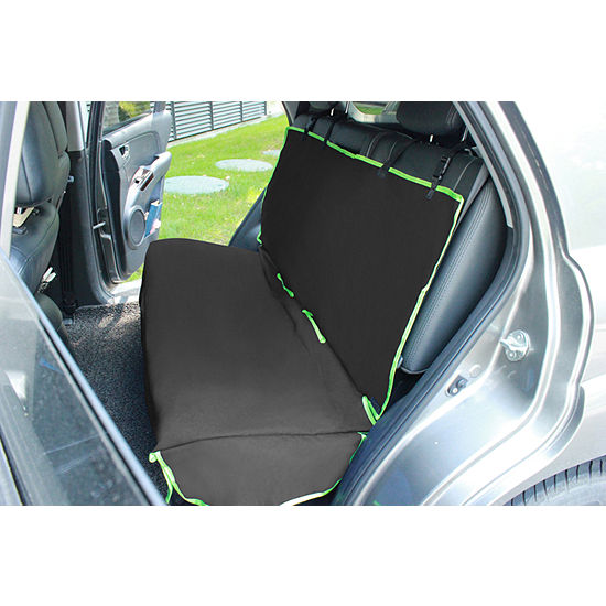Pet Life Open Road Mess-Free Back Seat Safety Car Seat Cover Protector For Dog