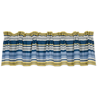 HiEnd Accents Beaufort Stripe Window Valance