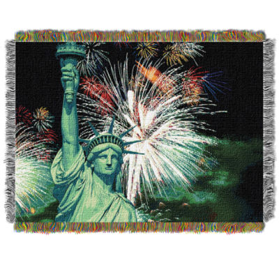 NW Collection Lady Liberty Throw