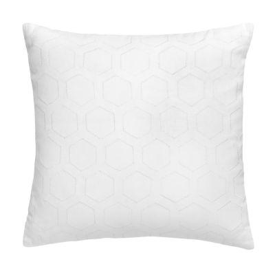 Jill Rosenwald Blackpoint Hex 16x16 Square Throw Pillow
