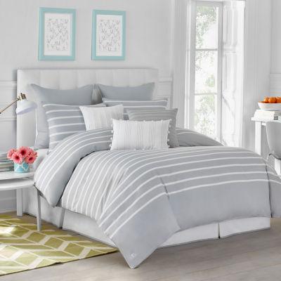 Jill Rosenwald Capri Stripe Stripes Comforter Set
