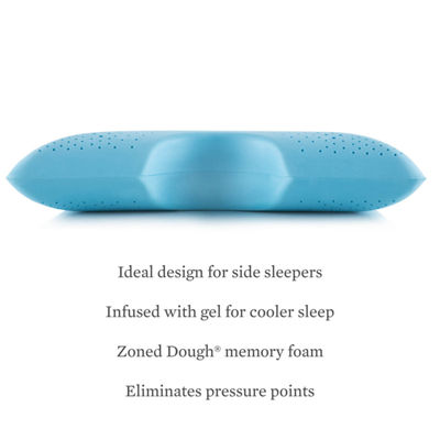 Z Shoulder Zoned Dough Gel Infused Pillow