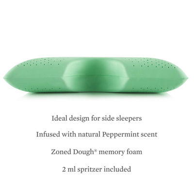 Malouf Z Shoulder Zoned Dough Peppermint Infused Pillow