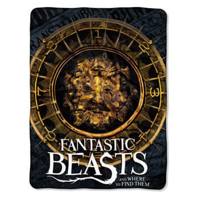 Fantastic Beast Many Faces  Throw