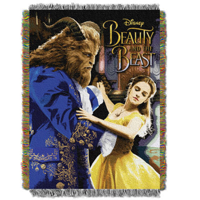Disney's Beauty And The Beast Ballroom Waltz Throw