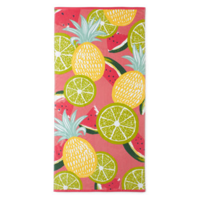 Outdoor Oasis Fruit Medley Beach Towel