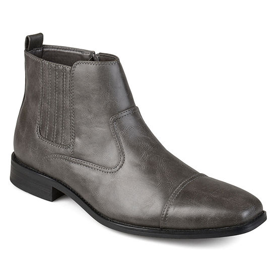 Vance Co Mens Alex Dress Boots Block Heel