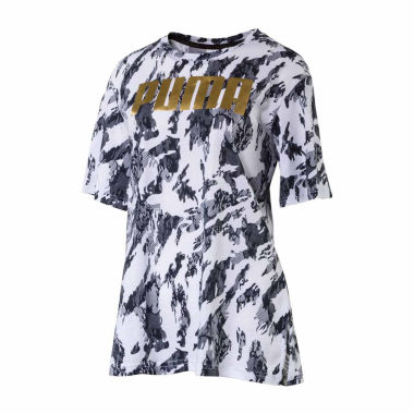 Puma Metallic Logo T-Shirt