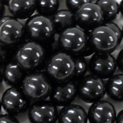 """Black 1"""" Gumballs 2lb"""