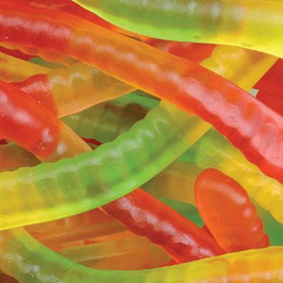 Squiggles Gummi Worms 5lb