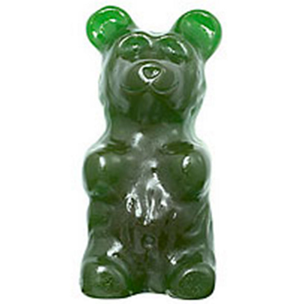 World's Largest Gummy Bear Sour Green 5lbs
