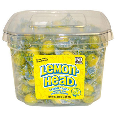Lemonhead Tub 150-pc.