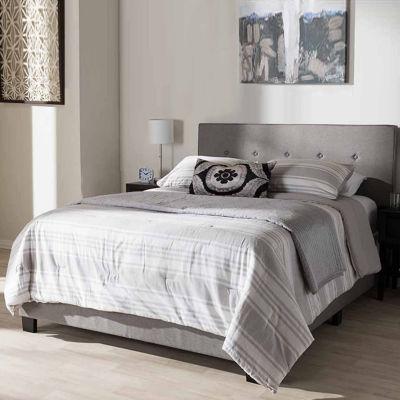 Baxton Studio Hampton Modern and Contemporary Bed