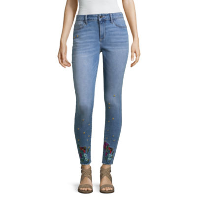 a.n.a Embroidered Ankle Jegging