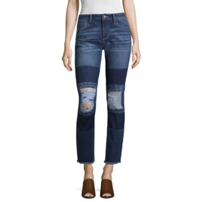a.n.a Patch Skinny Ankle Jean
