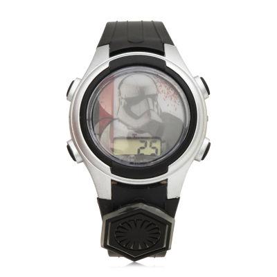 Star Wars Boys Black Strap Watch-Swj4023jc