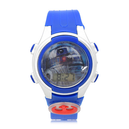 Star Wars Boys Blue Strap Watch-Swj4032jc, One Size , No Color Family