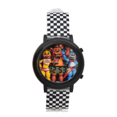 Nickelodeon Boys Two Tone Strap Watch-Fnf3028jc
