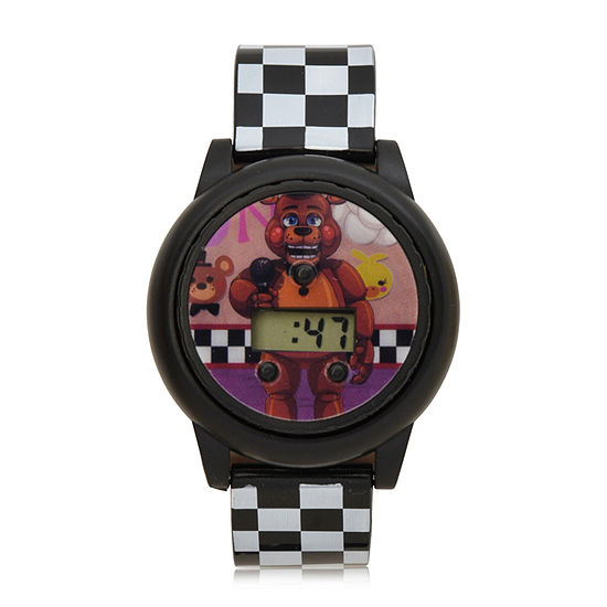 Nickelodeon Five Nights at Freddys Boys Digital Two Tone Strap Watch-Fnf4064jc