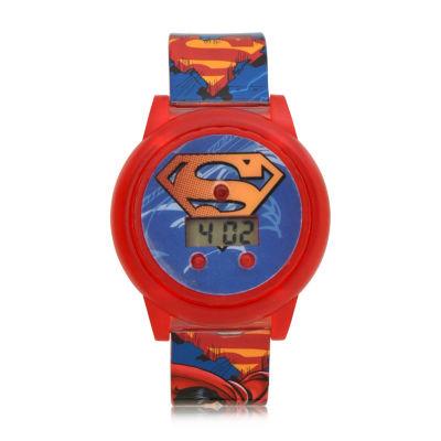 Boys Multicolor Strap Watch-Sup4315jc