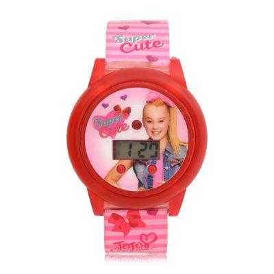 Jojo Siwa Girls Pink Strap Watch-Joj4065jc