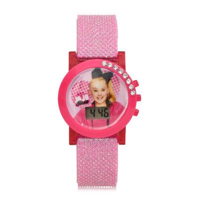 Jojo Siwa Girls Pink Strap Watch-Joj4057jc