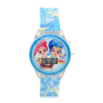 Girls Blue Strap Watch-Sns4070jc