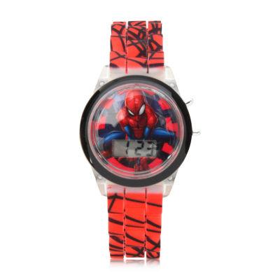 Boys Red Strap Watch-Spd4478jc
