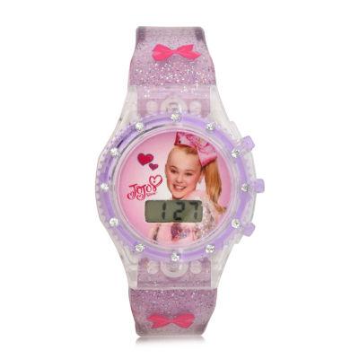 Disney's Frozen Girls Blue Strap Watch-Fzn4108jc