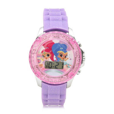 Girls Purple Strap Watch-Sns4086jc
