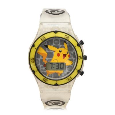 Boys Yellow Strap Watch-Pok4121jc
