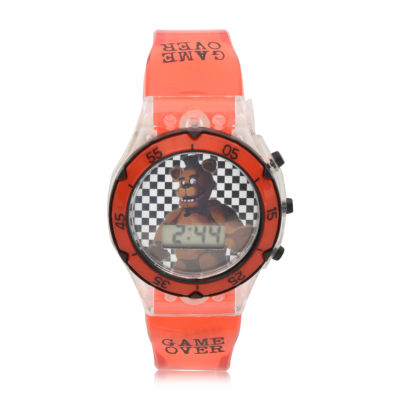 Boys Red Strap Watch-Fnf4072jc