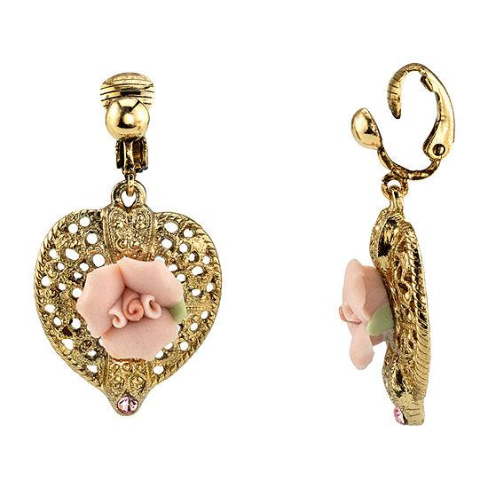 1928 1 Pair Clip On Earrings