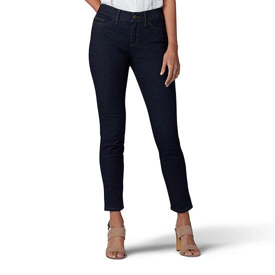 Lee® Womens Mid Rise Skinny Fit Jean
