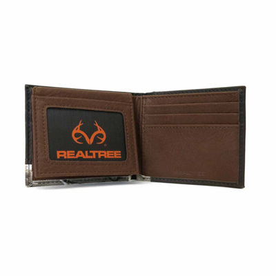 Realtree® Passcase Billfold Wallet with Logo Rivet