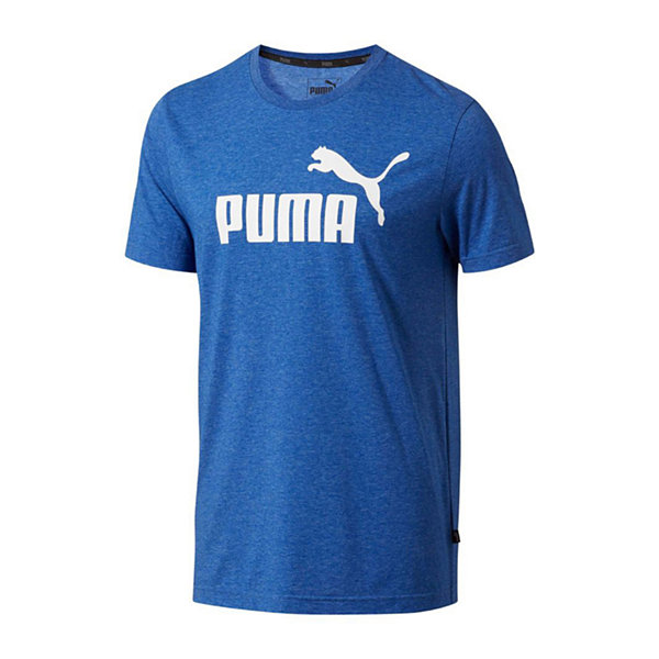 Puma Mens Crew Neck Short Sleeve Moisture Wicking T-Shirt