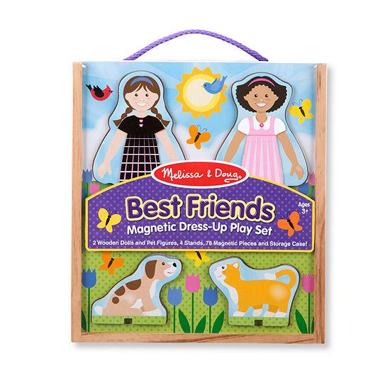 Melissa & Doug Best Friends Magnetic Dress Up Play Set