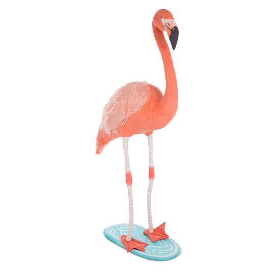 Melissa & Doug Flamingo - Plush Stuffed Animal