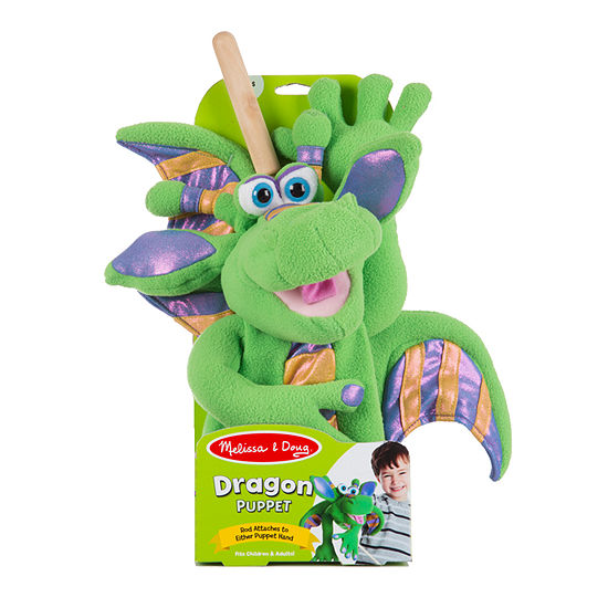 Melissa & Doug Dragon - Puppet Puppet
