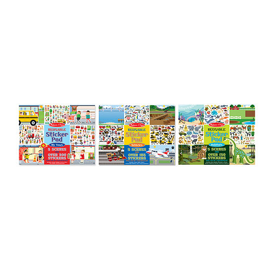 Melissa & Doug 3-pc. Activity Book