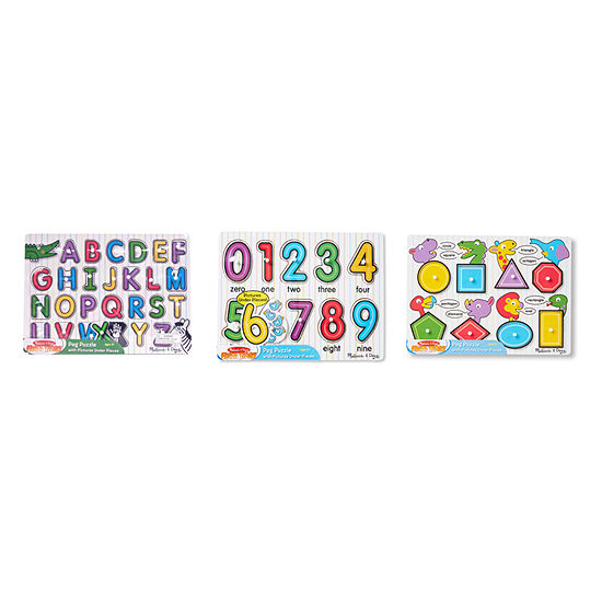 Melissa & Doug Chunky Bundle - Farm & Pets 2-pc. Puzzle