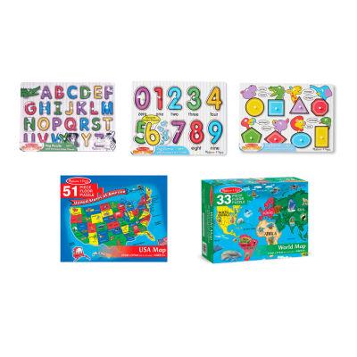 Melissa & Doug 5-pc. Puzzle