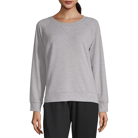 36a04d9781 Xersion Lounge Raglan Sweatshirt - JCPenney