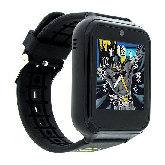 Batman Boys Multi-Function Black Smart Watch-Bat4740jc